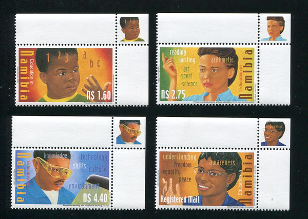 2004 23 March. Education in Namibia - Set of 4
