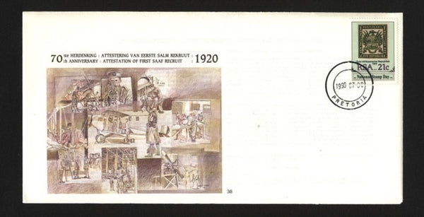 Copy of SAAF #38- FDC