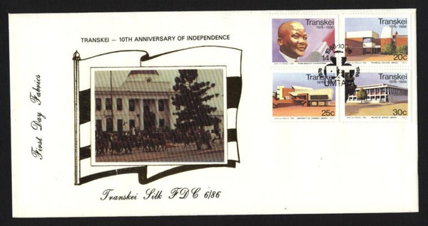 Transkei Silk 86.6 10th Anniversary of Independence