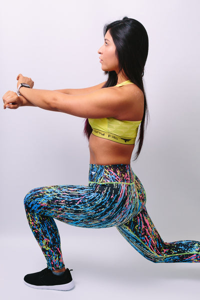 'Hannah' Leggings - Bottoms - Armony Fit  - Luxury Activewear - Sportswear - Yoga Gear