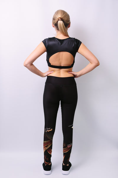 'Dorcas' Leggings - Bottoms - Armony Fit  - Luxury Activewear - Sportswear - Yoga Gear