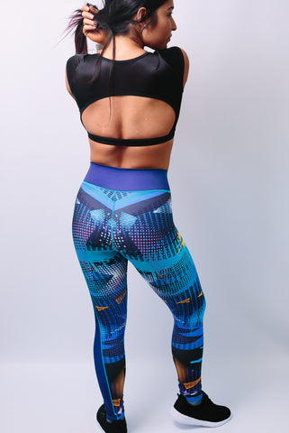 'Elizabeth' Leggings - Bottoms - Armony Fit  - Luxury Activewear - Sportswear - Yoga Gear