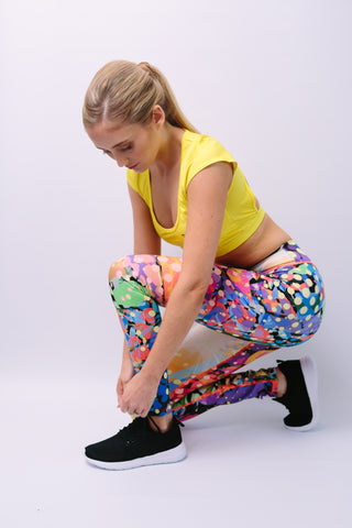 'Eunice' Leggings - Bottoms - Armony Fit  - Luxury Activewear - Sportswear - Yoga Gear