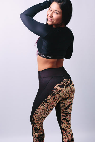 'Lois' Top - tops - Armony Fit  - Luxury Activewear - Sportswear - Yoga Gear