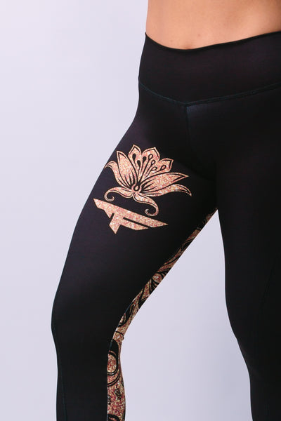 'Milcah' Leggings - Bottoms - Armony Fit  - Luxury Activewear - Sportswear - Yoga Gear