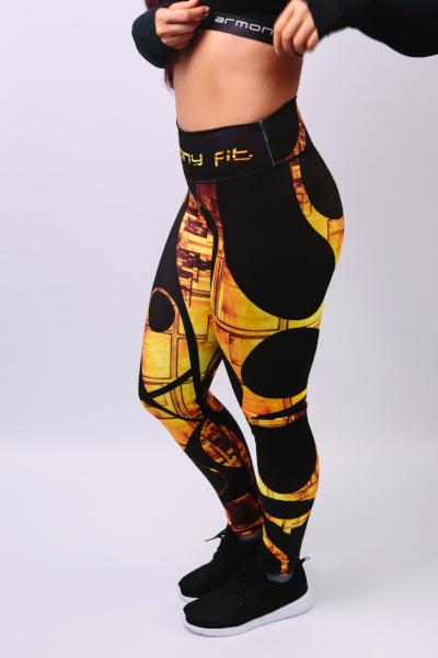 'Gold' Leggings - Bottoms - Armony Fit  - Luxury Activewear - Sportswear - Yoga Gear