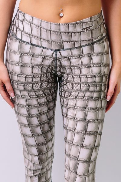 'Silver' Leggings - Bottoms - Armony Fit - Sportswear - Luxury Activewear - Custom Made