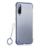 Luxury Frameless Semi Transparent Ring Finger Case for Galaxy A50