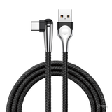 Baseus 90 Degree Lighting USB Type C Cable For Samsung