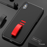Baseus Lovely Creative Little Tail Anti-fall Ring Case For iPhone X