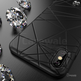 Mercedes-Benz 3D Sculpting Pattern Case for iPhone XS Max