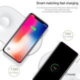 Baseus 2 in 1 Wireless Charger For iPhone + Apple Watch