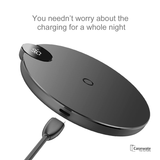 Baseus LCD Digital Display Wireless Charger