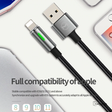 Mcdodo Auto Disconnect Lightning Cord Fast Charging Cable for iPhone  [6 Months Warranty]