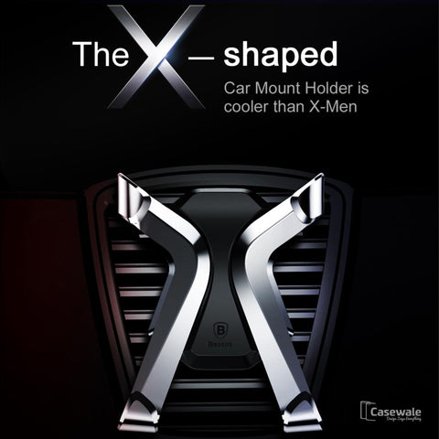 Luxury Adjustable Air Vent Car Mount Phone Holder