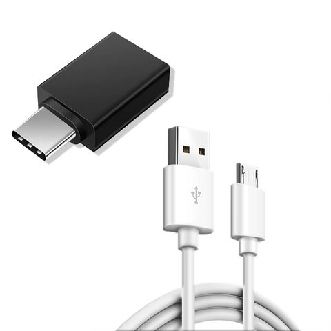 OTG Adapter & USB Cable