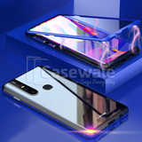 LUPHIE 2nd Generation Dual Color Magnetic Glass Case for VIVO V15