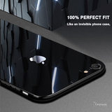 Luxury Slim Tempered Glass Case for iPhone 6, 7, 8
