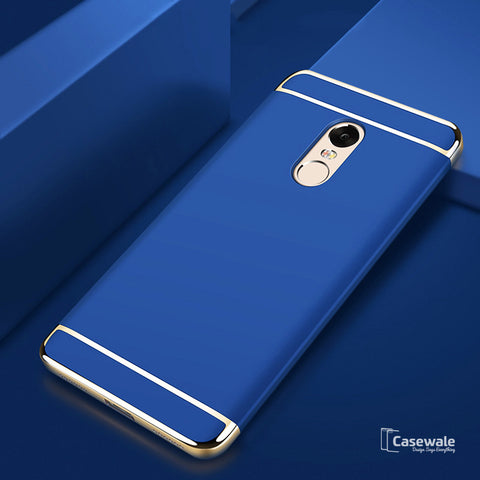 Luxury 3 in 1 Electroplating Case for Redmi Note 5