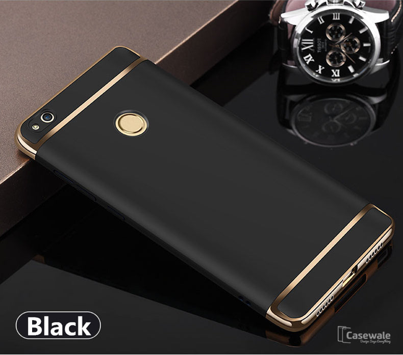 Huawei Honor 8 lite Ultra Thin Electroplated Gold Plating Case
