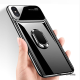 Luxury Mirror Effect Ring Bracket Case for iPhone