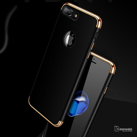 Luxury Electroplating Hard PC Case for iPhone 8/ 8 Plus