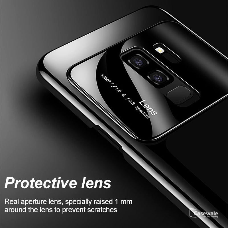 the best attitude d35d4 ae824 Luxury Ultra Thin Mirror Effect Back Case for Galaxy A6 Plus