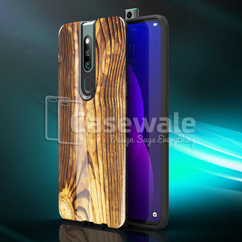 Original Texture Pattern Luxury Glass Case for Oppo F11 Pro