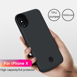 5000mAh External Battery Power Bank Case for iPhone XS Max