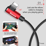 Baseus 90 Degree L Type USB Cable For iPhone
