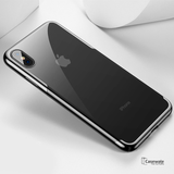 High-end Fashion Transparent Phone Case for iPhone XS