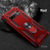 Luxury Armor Car Holder Ring Soft Case for Galaxy S10/ S10 Plus