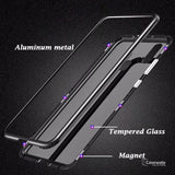 Tempered Glass Magnetic Adsorption Case For Galaxy A30
