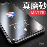 Matte Anti Fingerprint Tempered Glass Protector for iPhone X
