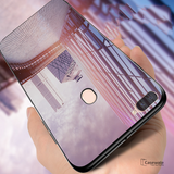 Smooth Luxury Ultra Thin Glass Shell Case for Oppo F9 Pro