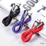 Baseus 90 Degree Lighting USB Data Cable For iPhone