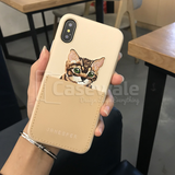 Bella Leather Case by Janesper for Apple iPhone X