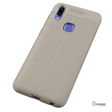 Luxury Auto Focus Leather Texture Case For Vivo V11