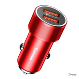 Baseus 36W Dual USB Quick Car Charger for iPhone Samsung