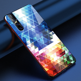 Prism Marble Pattern Glass Case for Vivo V15 Pro