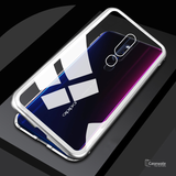 Electronic Auto-Fit Magnetic Glass Case for Oppo F11 Pro