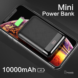 Rock Space P66 Mini Digital Display 10000mAh Power Bank