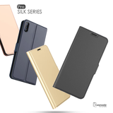 Original Leather Card Slot Flip Case For Vivo V11