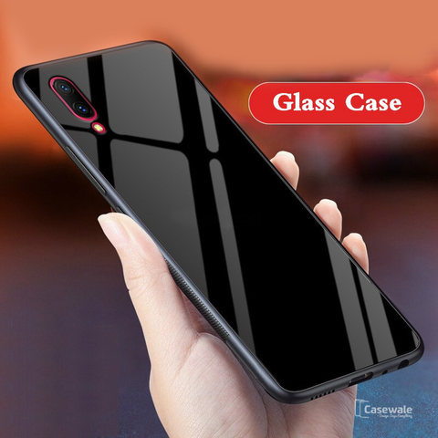 Luxury 9H Slim Tempered Glass Case for  Vivo V11 Pro