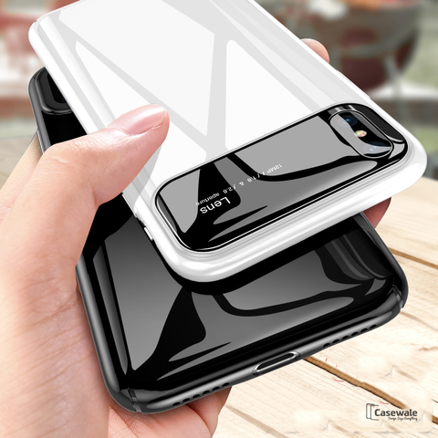Luxury Smooth Ultra Thin Mirror Effect Case For iPhone XS Max