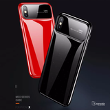 Luxury Smooth Ultra Thin Mirror Effect Case For iPhone XS