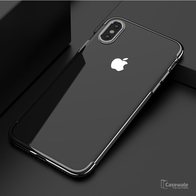 size 40 7be89 2ed41 Full Coverage Ultra-Thin Protective Transparent Case for iPhone X