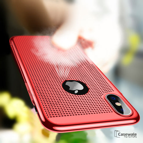 luxury Heat Dissipation Phone Cases for iPhone X