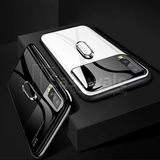 Luxury Mirror Effect Ring Bracket Phone Case for Galaxy A50
