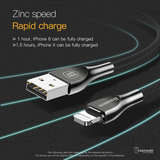 Baseus Zinc Alloy Fast Charging USB Cable For iPhone